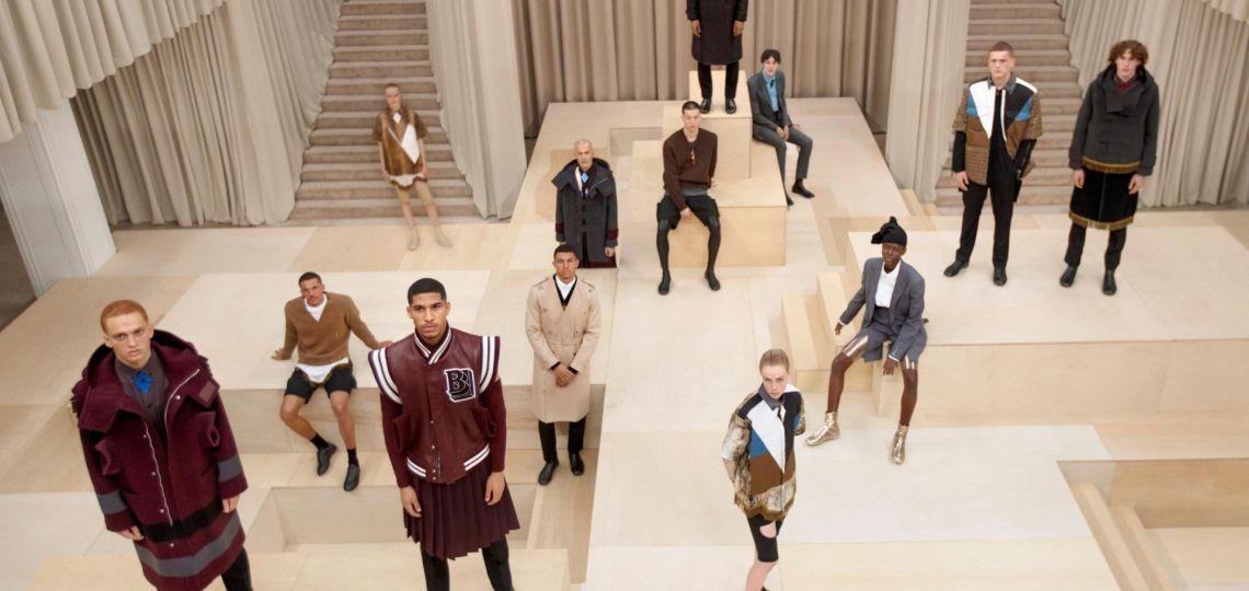 Burberry presenta su nueva colección masculina