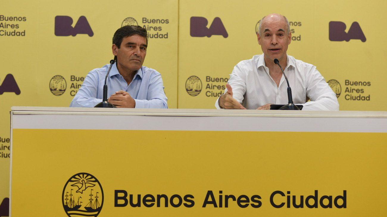 """Stornelli pidió investigar la denuncia a Larreta y Quirós por """"privatizar"""" la vacunación"""