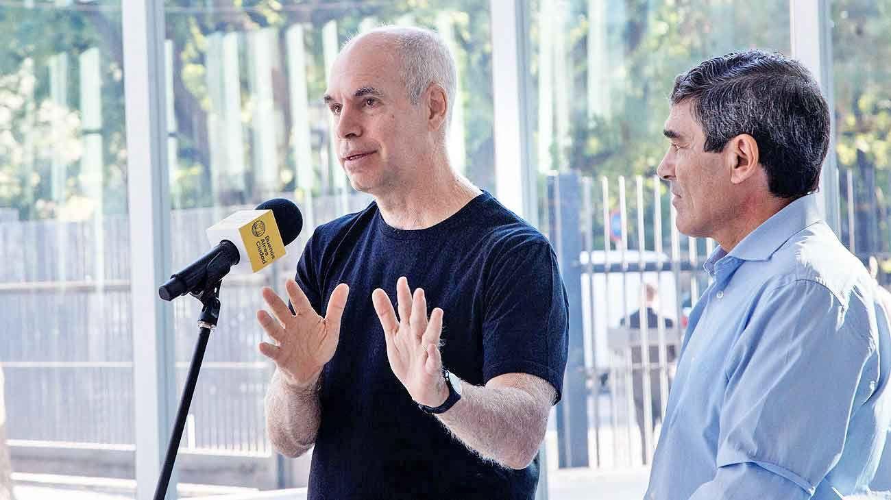 Acusan a Horacio Rodríguez Larreta y Fernán Quirós de la comisión de delitos de acción pública.