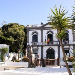 El artista César Manrique tuvo mucha influencia en Lanzarote y vivió sus últimos años en Haría. Foto: Manuel Meyer/dpa