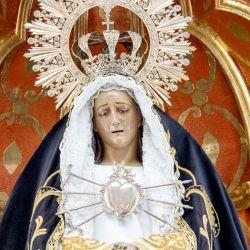 La Virgen de los Dolores, en la Ermita de Mancha Blanca, es la Patrona de Lanzarote. Foto: Andreas Drouve/dpa