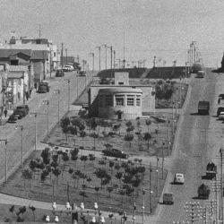Las primeras construcciones en el caso urbano.