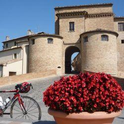 Por Italia en bicicleta.