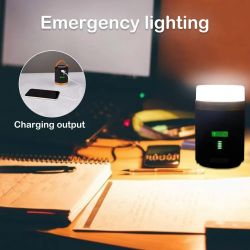 Este modelo de Yizhet tiene un indicar LED para saber en todo momento el estado de la batería.