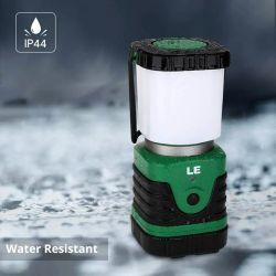 Este modelo de la marca LE cuenta con certificación IP4, lo que garantiza una gran resistencia al agua.