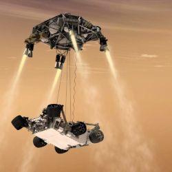 Según la NASA, durante el aterrizaje del Perseverance se recopilaron un poco más de 30 GB de información.