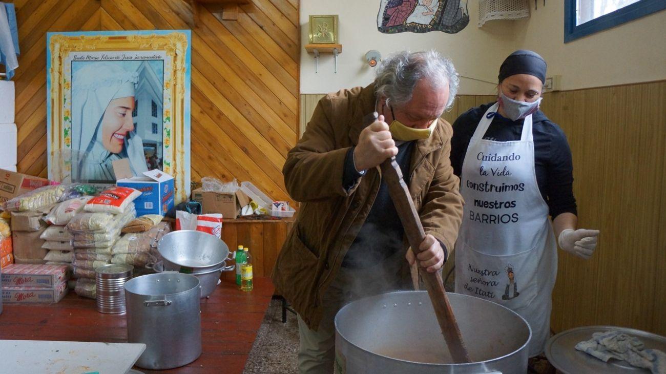 Los centros barriales del Hogar de Cristo trabajan en la recuperación de adicciones en villas