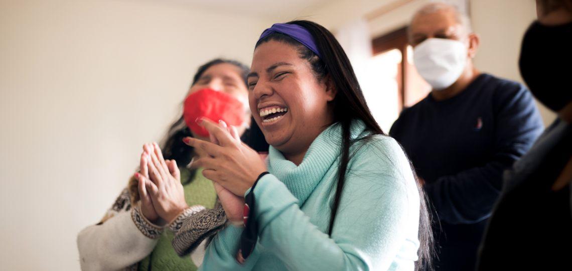 Resiliencia: perdió la vista y decidió crear un proyecto solidario para ayudar a mujeres en Jujuy