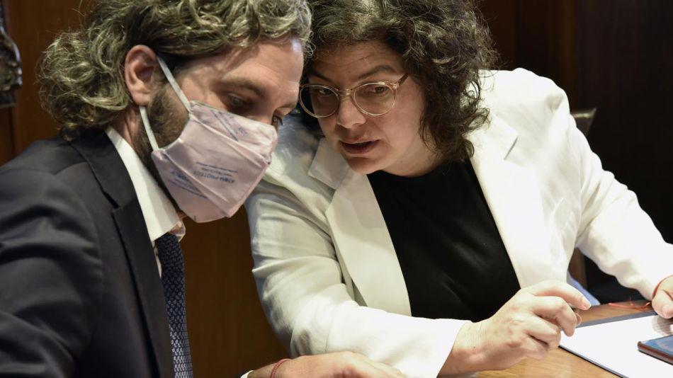 Carla Vizzoti y Santiago Cafiero 20210223