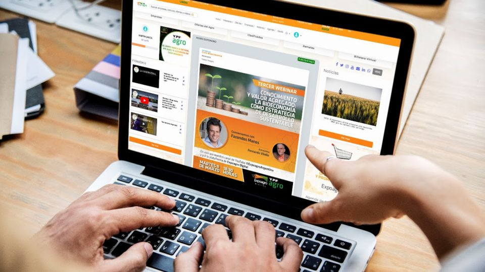 La nueva plataforma ofrecerá información y servicios para el agro.