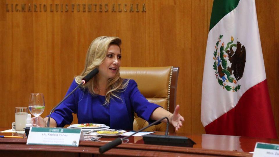 Ante el IMSS, Fabiola Yáñez compartió las labores realizadas junto a las primeras damas latinoamericanas a nivel regional, desde la Alianza ALMA -la cual tiene la coordinación general-.