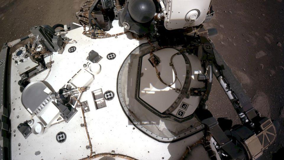 El róver Perseverance fue lanzado el 30 de julio de 2020 y aterrizó el 18 de febrero en el planeta rojo.