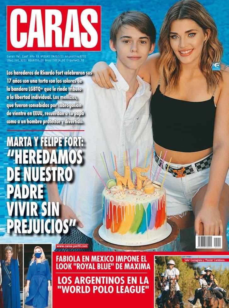 """Marta y Felipe Fort: """"Heredamos de nuestro padre vivir sin prejuicios"""""""