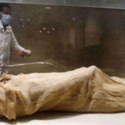 Al momento de ser cruelmente asesinado, se cree que el faraón tenía unos 40 años de edad