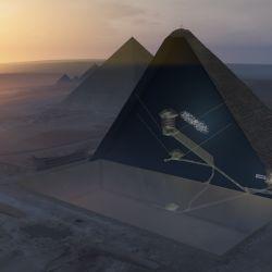 Según Alex Whitaker podría haber muchas más cámaras ocultas debajo de la legendaria pirámide griega,