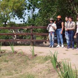 La laguna de Ratto, en Roque Pérez.