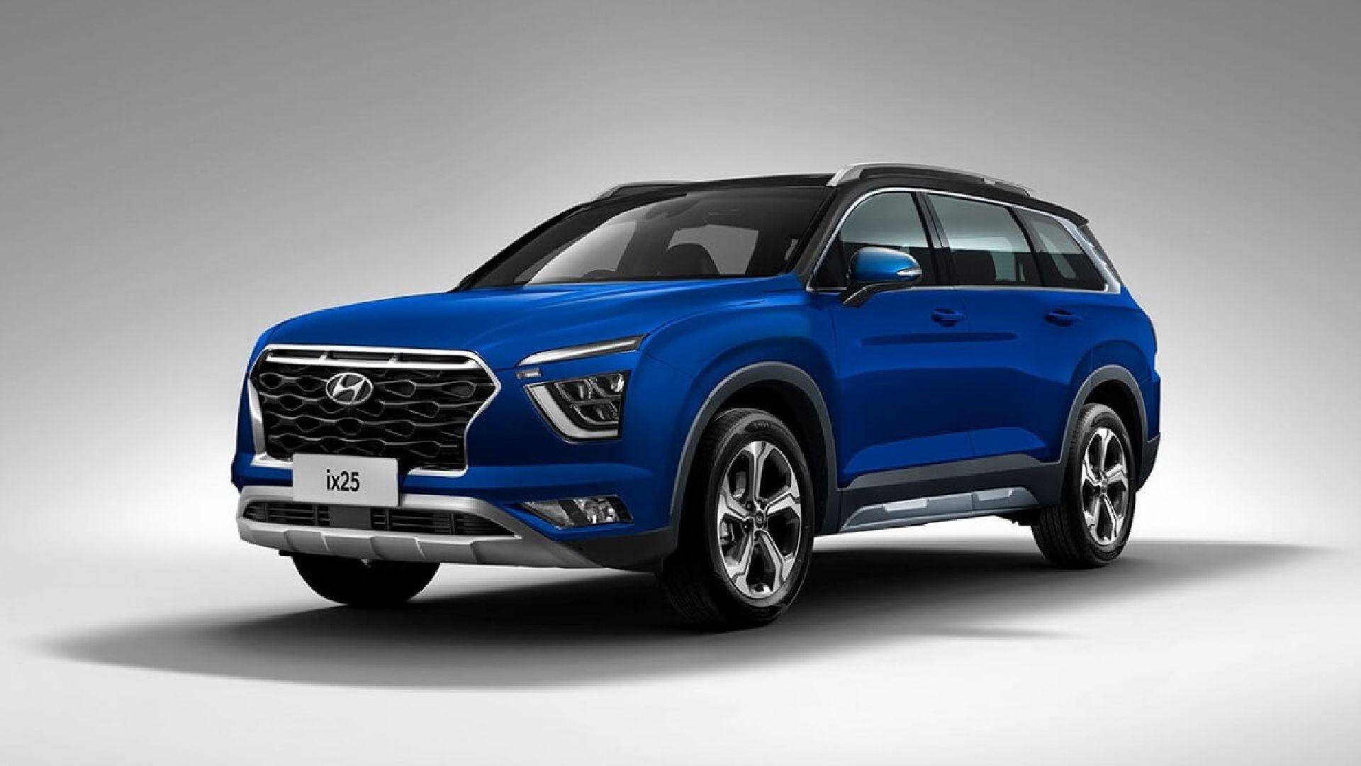 Hyundai Alcazar confirmado, el nuevo SUV de siete asientos (Creta XL)