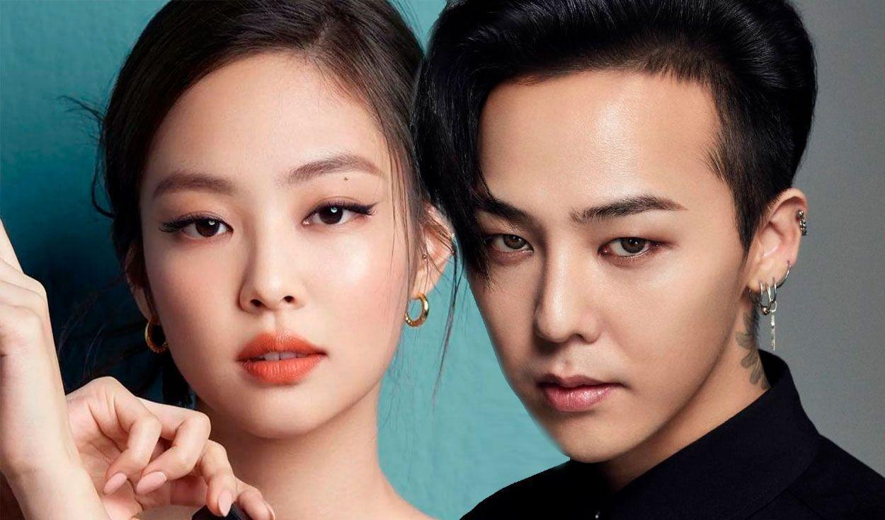 Jennie de BLACKPINK y G-Dragon serían novios