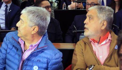 Lázaro Báez, Julio de Vido y Cristina Kircner (al fondo) en el juicio de Vialidad
