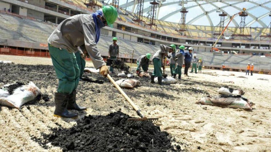 Qatar trabajadores