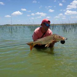 La laguna es destacada y resuena entre los pescadores deportivos por los hermosos ejemplares tanto de tarariras (Hoplias malabaricus) como de carpas (Cyprinus carpio).