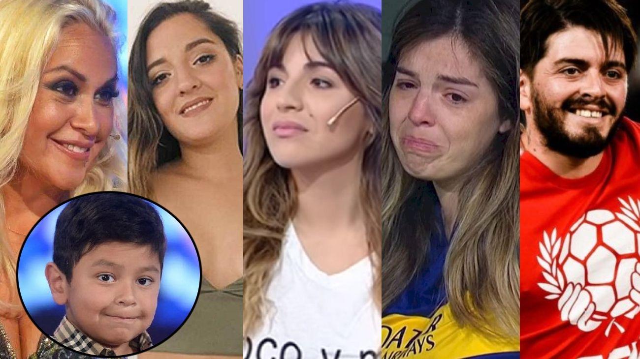 Verónica Ojeda y los hijos de Diego Maradona