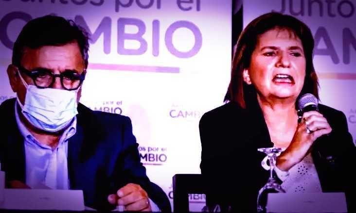 Mario Negri y Patricia Bullrich.