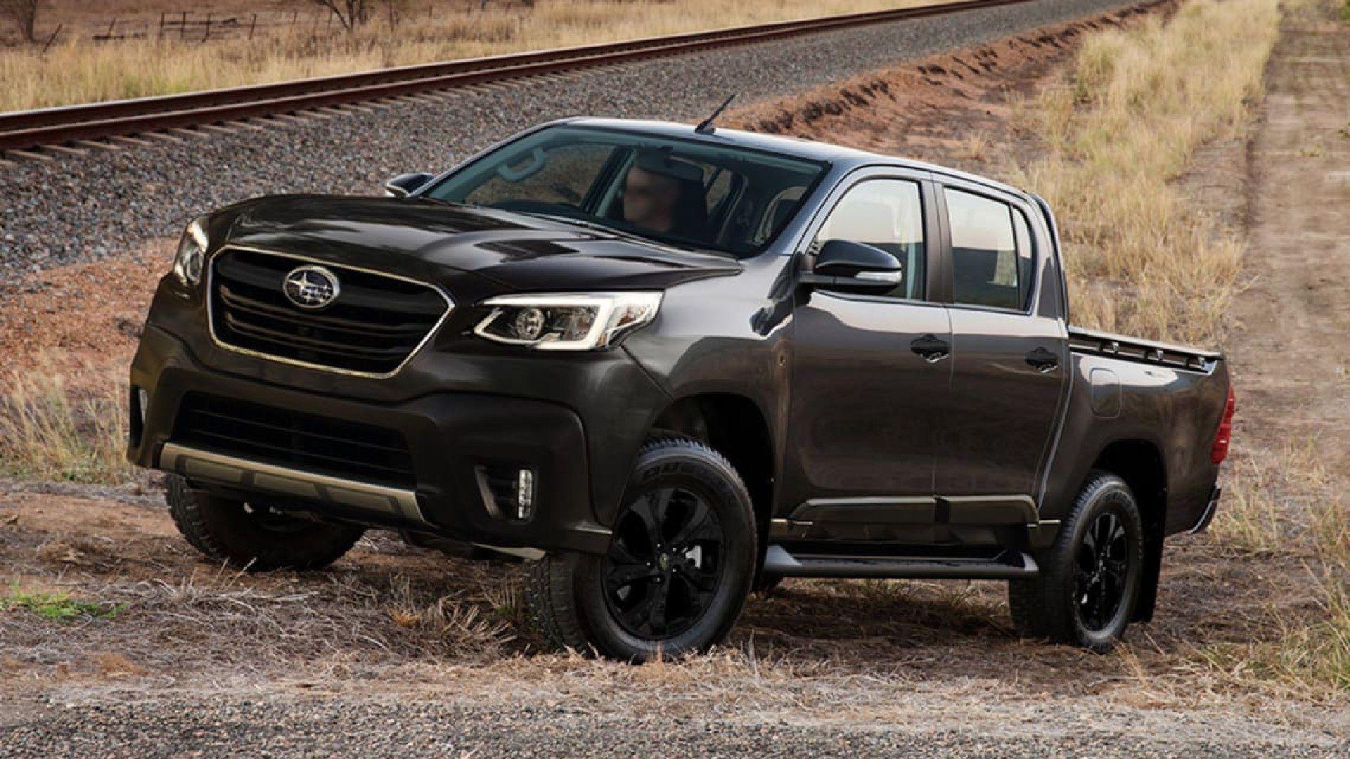 Subaru podría lanzar una pick-up mediana basada en Toyota Hilux