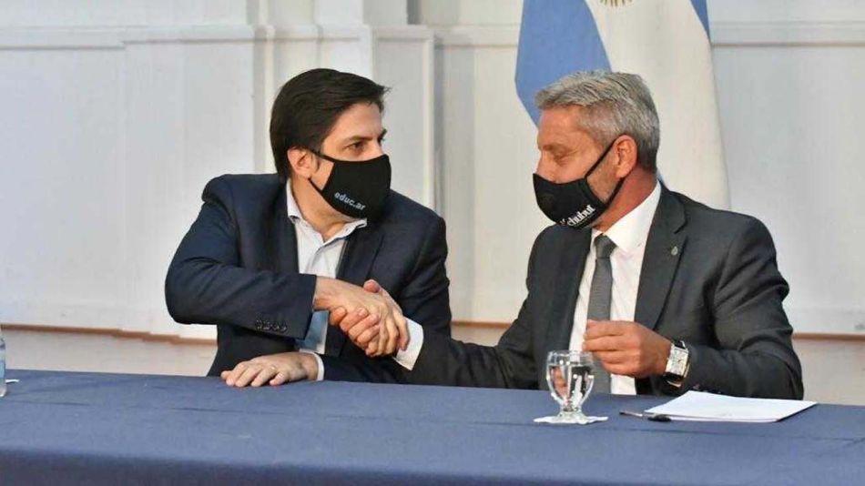 Nación y Chubut acordaron el inicio del ciclo lectivo-20210225