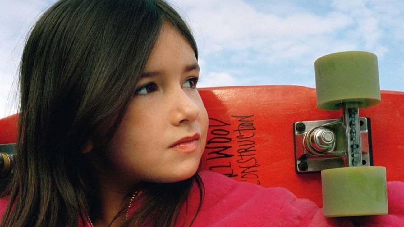 Vasilisa Ermakova nena rusa que es un crack del snowboard.