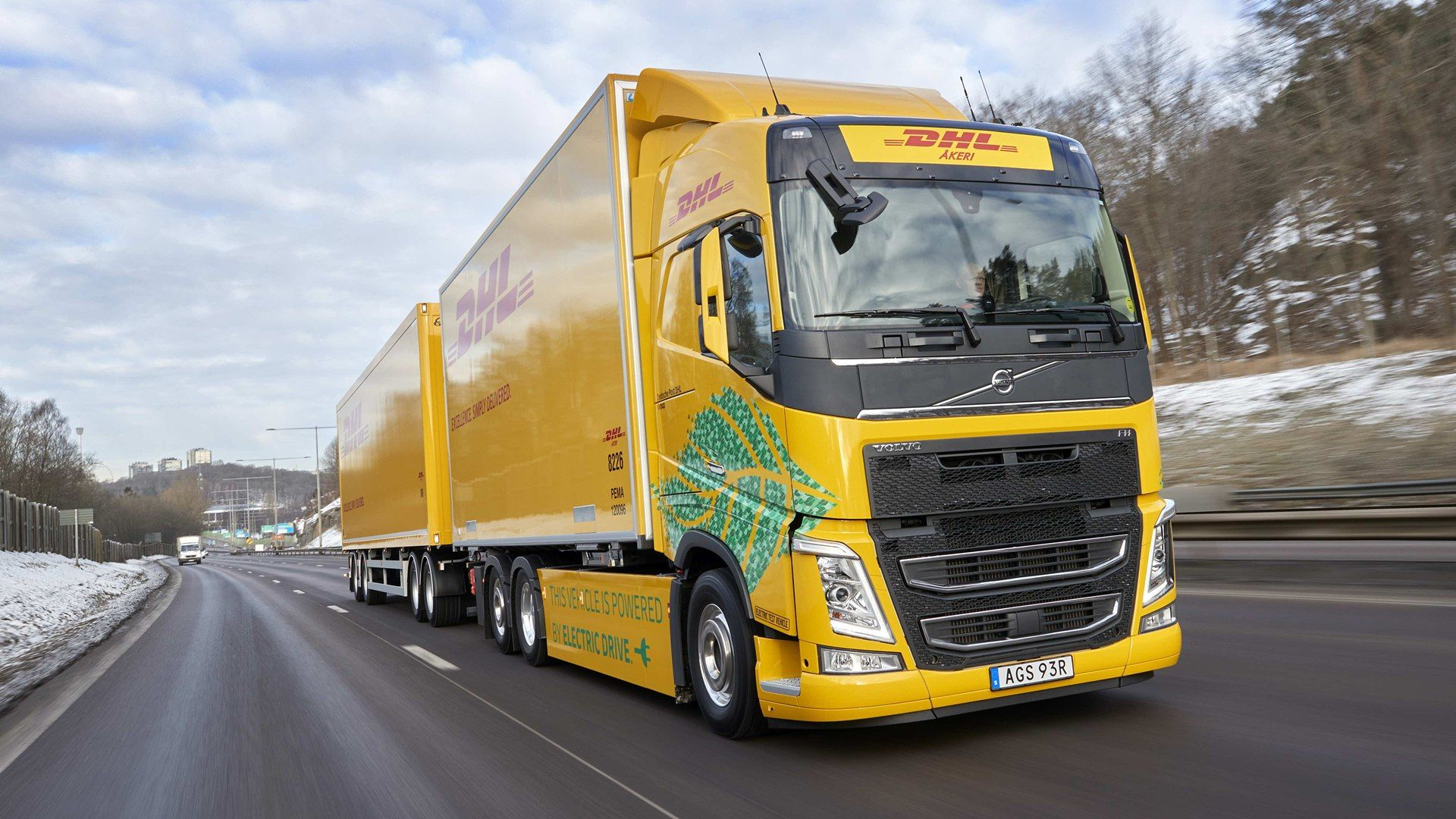 Volvo FH Electric.