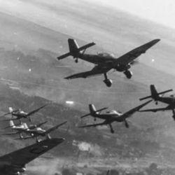 La ultramoderna fuerza aérea de la Alemania nazi estuvo bajo la dirección de Hermann Göring.