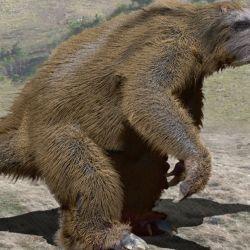 Los especialistas creen que el perezoso gigante encontrado tiene una antigüedad cercana a los tres millones y medio de años, l