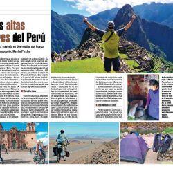 Continuamos con el viaje de Bernardo Gazzmann, que a puro pedal visita la inolvidable Machu Picchu.