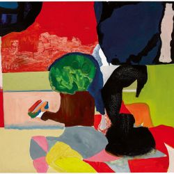 MATICES. Las pinturas de Seeber y video performances de Hilario hablan con piezas de artistas brasileñas. | Foto:Gentileza Malba, Raquel Silva y Guido Limardo