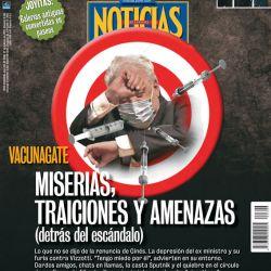Tapa Nº 2305: Vacunagate | Foto:Pablo Temes