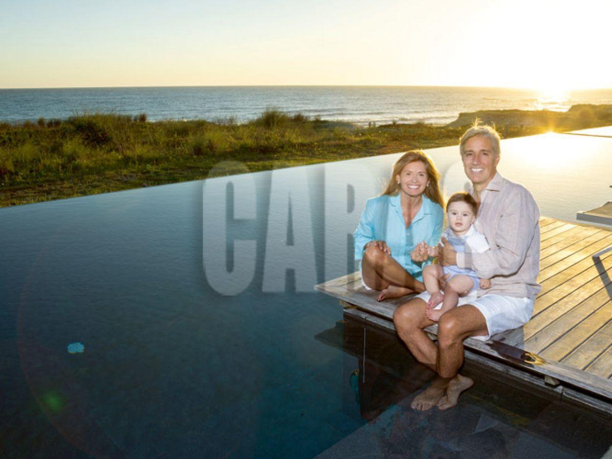 María Laura Leguizamón y Marcelo Figueiras celebran sus logros con una gran familia ensamblada