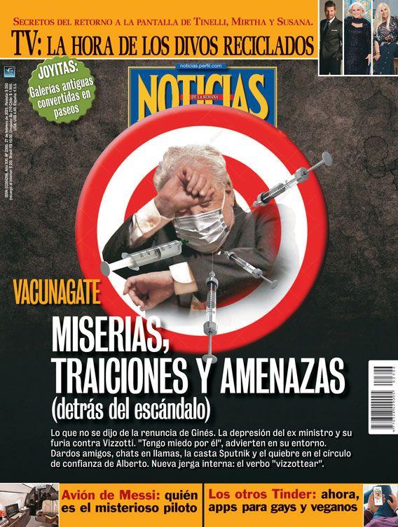 Vacunagate: Miserias, traiciones y amenazas