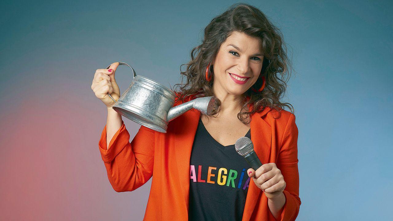 Dalia Gutmann estrenó unipersonal humorístico con canciones en el renovado Maipo. | Foto:Gentileza Raquel Flotta Prensa & Comunicaciones (Foto de Alejandra López