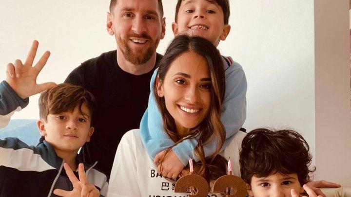 Antonela Roccuzzo cumplió 33 años: Así la homenajeó Leo Messi