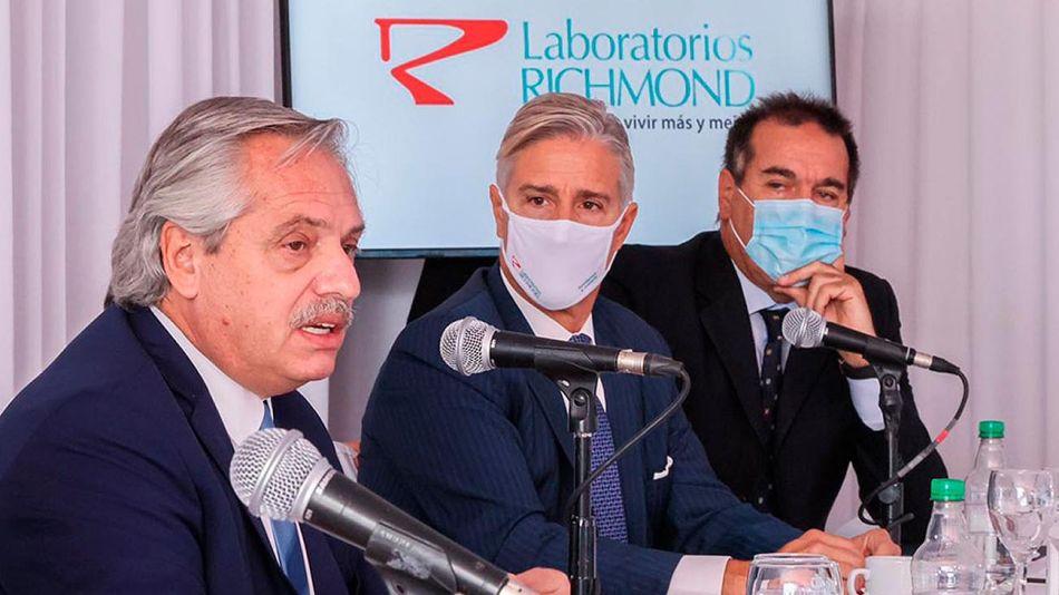 Marcelo Figueiras, presidente de Laboratorios Richmond 20210226
