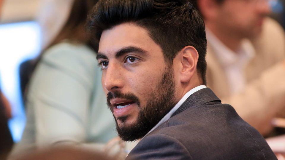 Facundo Moyano, diputado nacional.