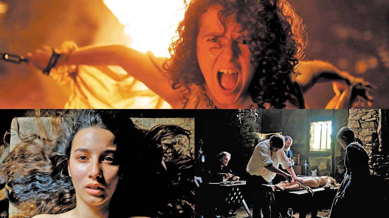 Terror. La película juega con el universo de las brujas de una forma que es por partes iguales tanto política como puro cine. Tiene una idea muy clara sobre nuestra actualidad a la hora de los géneros.