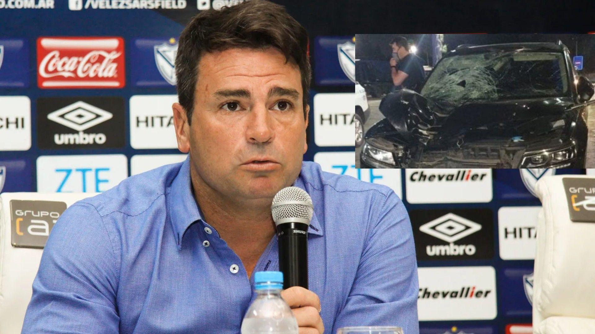 Pablo Cavallero, mánager de Vélez, protagonizó un accidente fatal en la Ruta 2.