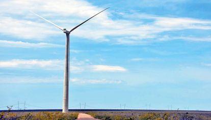 Puro viento. Ubicado en la Patagonia, tendrá trece aerogeneradores de tecnología de punta.