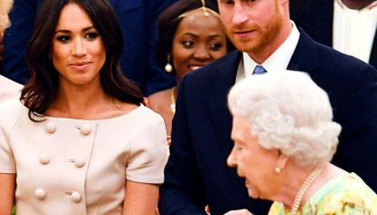 Meghan Markle , Príncipe Harry , Isabel II