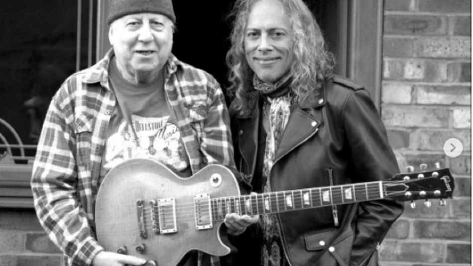 Peter Green y Kirk Hammet