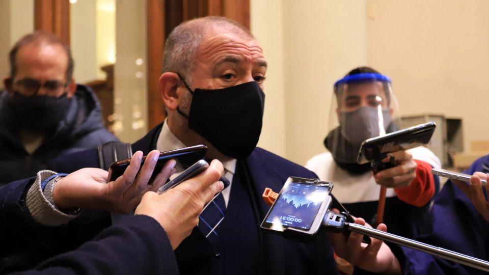 Luis Juez, diputado nacional.