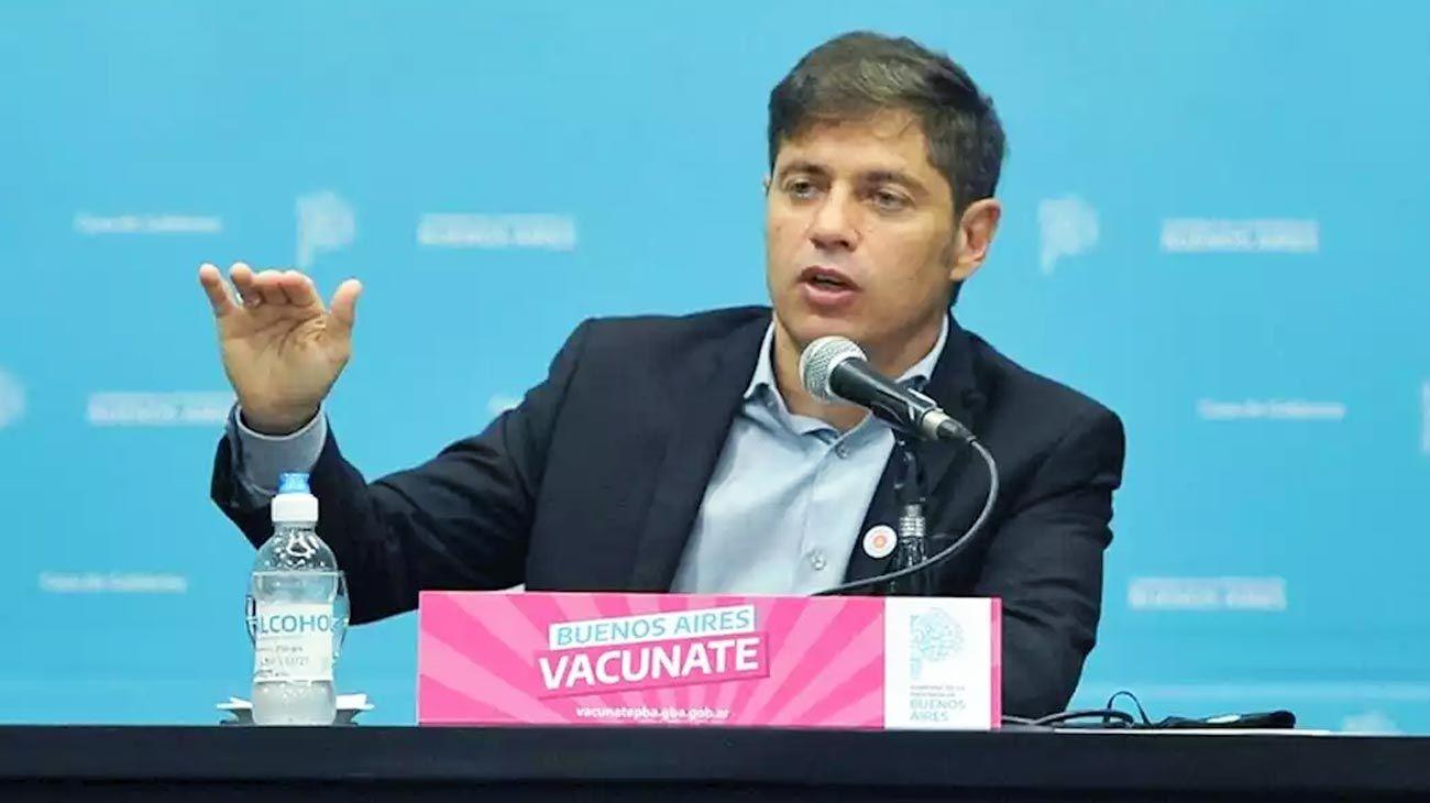 Kicillof justificó la vacunación a trabajadores de un call center