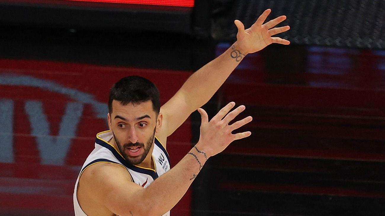 FACUNDO CAMPAZZO PISA FUERTE EN LA NBA CON DENVER NUGGETS. //AFP